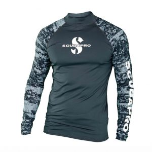 UPF 50 Men's Long Sleeve Rash Guard