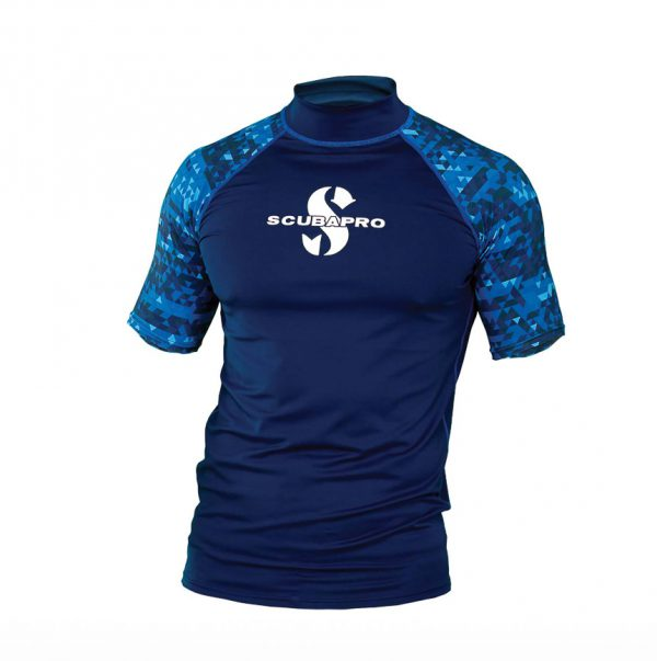 UPF 50 Men's Short Sleeve Rash Guard