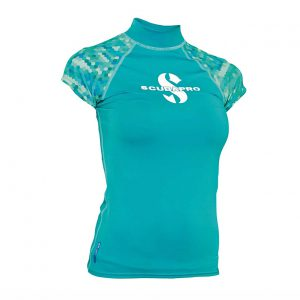 UPF 50 Women's Cap Sleeve Rash Guard